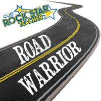 Medium cue rock star road warrior