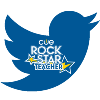 Medium rock star tweeter badge