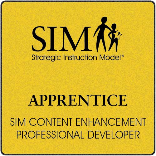 Sim Content Enhancement Pd Apprentice Strategic Instruction Model