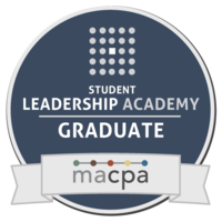 Medium student leadership academy linked in badge