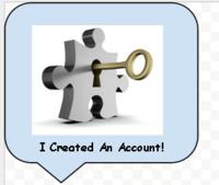 Medium i created an account badge