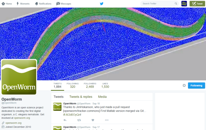 Preview twitter openworm