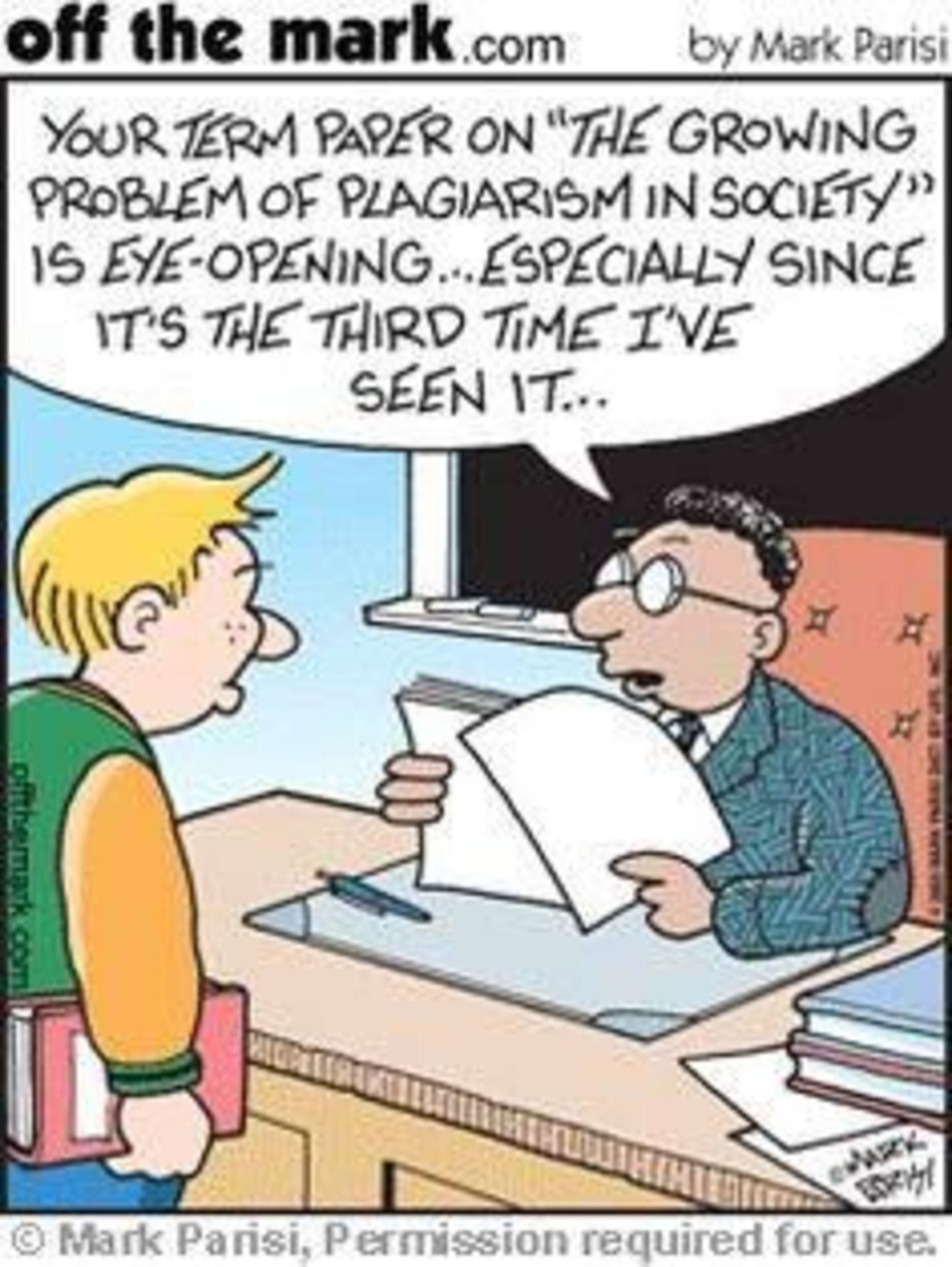 plagiarism a social problem Most students know that plagiarism is wrong, but it continues to be a common problem in today's classroom one study found that 52% of high school juniors admitted to copying several sentences from the internet without citing a source why is plagiarism so prevalent a recent article in the.