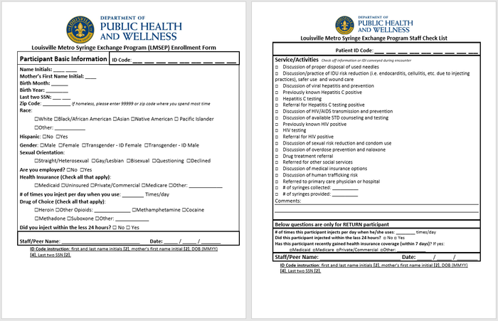Preview sep intake form