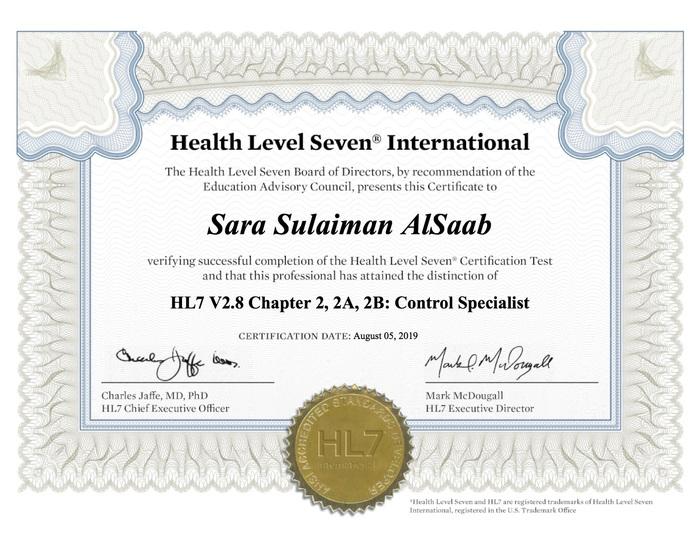 Preview hl7 pdf certificate