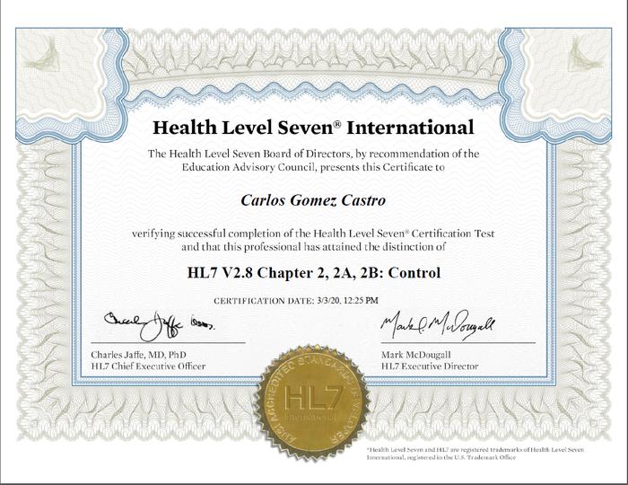 Preview hl certificate carlos gomez castro