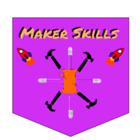 Medium makerbadge