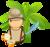 Small jungle explorer vector clipart