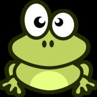 Medium frog clip art frog3