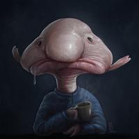 Medium blobfish by danieljoelnewman d7u0mwr